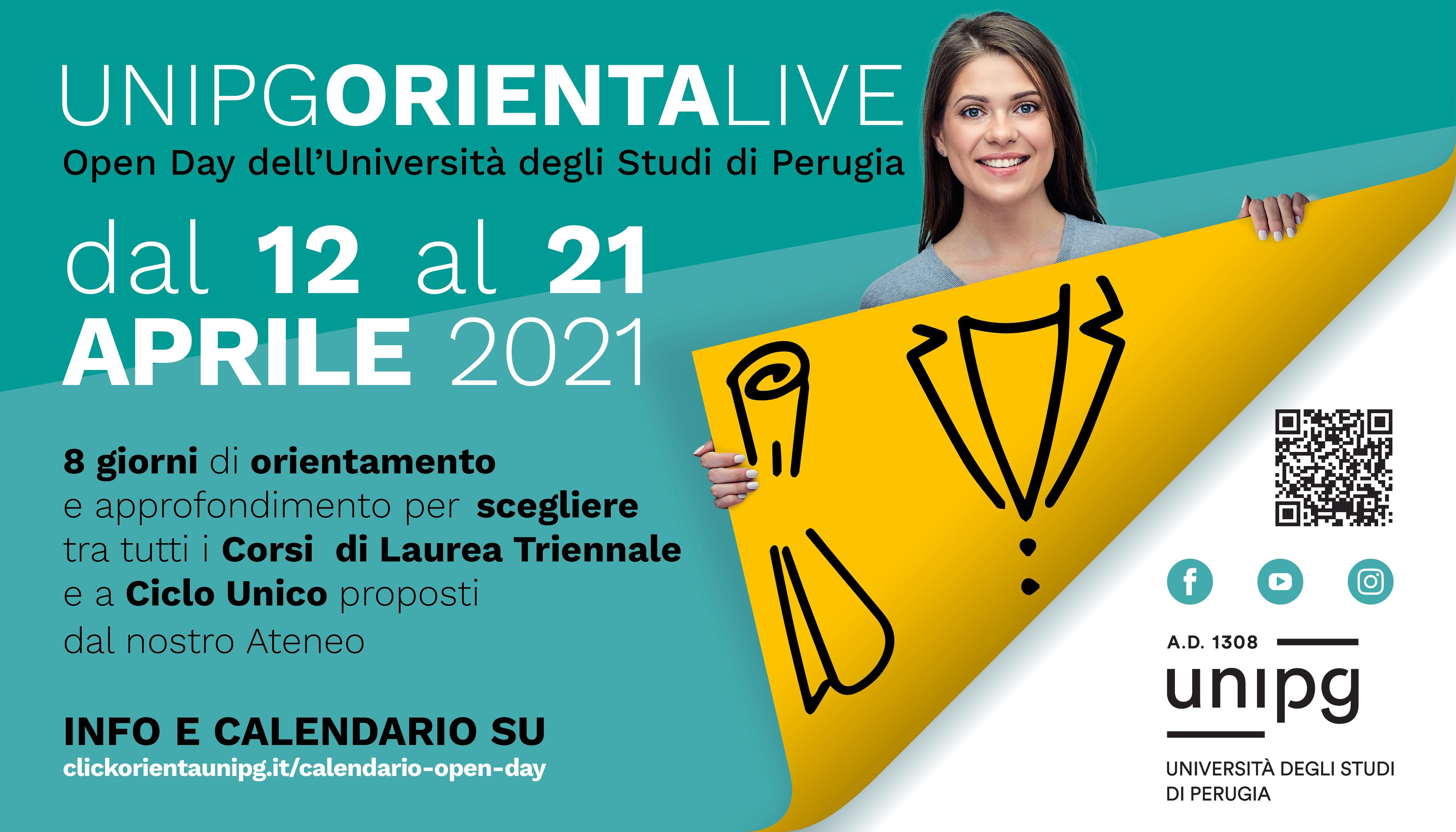 Open Day dell'Università degli Studi di Perugia