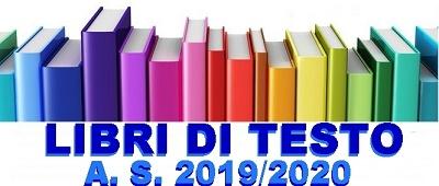 ELENCO LIBRI DI TESTO ADOTTATI O CONSIGLIATI A.S. 2019-2020