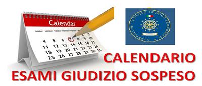 SOSPENSIONE DEL GIUDIZIO A.S. 2018/19 – CALENDARIO PROVE SCRITTE E ORALI