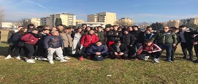17 gennaio 2020 – Gli studenti dello 'Scarpellini' alla fase distrettuale della Corsa campestre