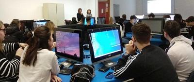 Le classi quarte dell'ITE Scarpellini incontrano l'A.N.C.L. per prepararsi al Mondo del lavoro.